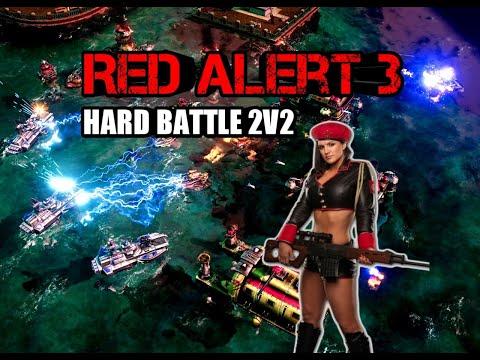 C&C: Red Alert 3 - Союзная битва 2v2 HARD