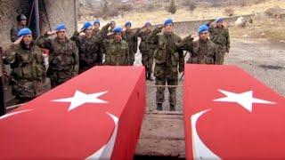 Şefkat Tepe 50 Teröristler Karakolu Saldırıyor