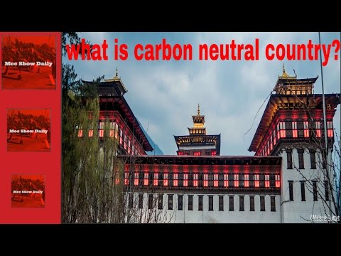 what is carbon neutral country?