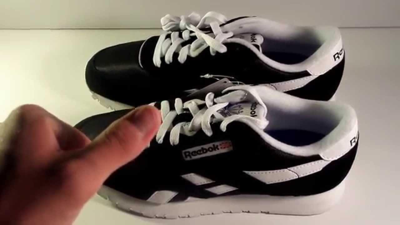 Reebok Classic Nylon Shoes Unboxing - YouTube f46a1052c