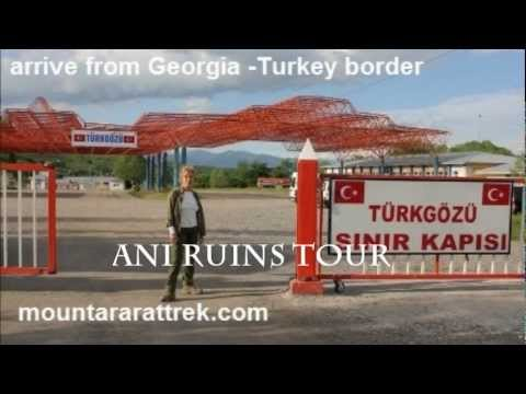 Ani Ruins Kars Turkey with Mount Ararat Trek by Amy Beam