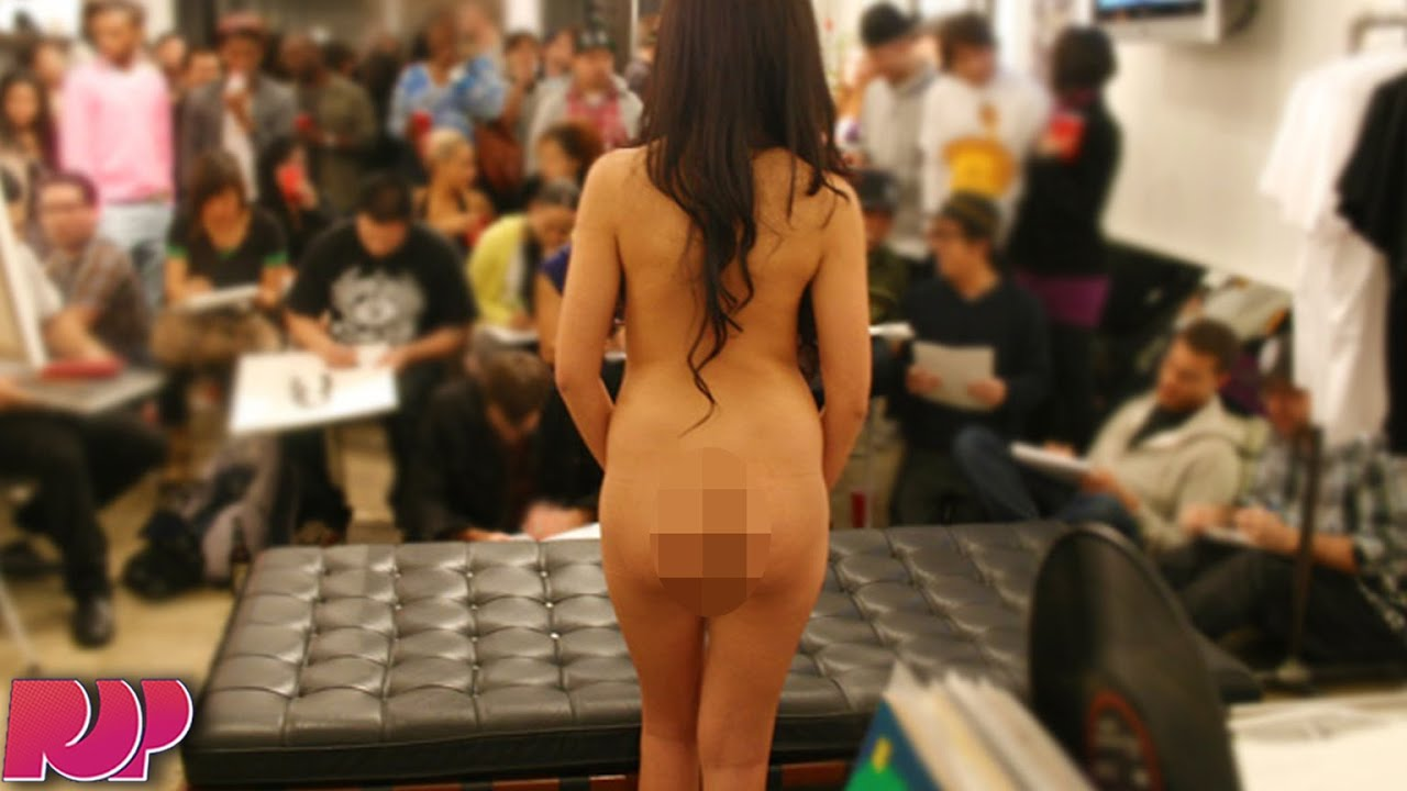 Girl Gets Naked In Class