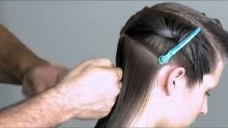 Стрижка однородными слоями - видео-урок по базовой салонной стрижке