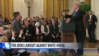 Fox News, CBS News and other outlets back CNN in legal fight against White House