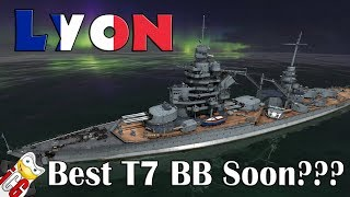 World of Warships - Lyon Datamine - Possible Best Tier 7 BB Soon???