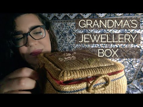 What's in my Grandma's Vintage Jewellery Box ASMR - Various Triggers