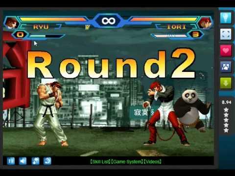 Yo jugando al King Of Fighters Wing