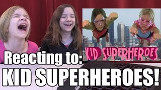 Kid Superheroes Today! Reacting to part 1 of the Babyteeth4 Classic