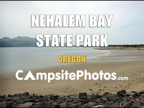 Nehalem Bay State Park, Oregon Campsite Photos