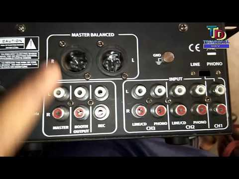 Nx audio  DJ mixer