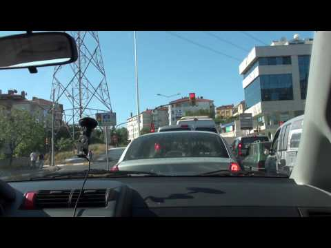 Traveling in İstanbul - From Çengelköy to Çamlıca in 90 seconds