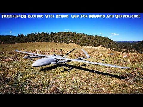 Thresher-03 Electric Vtol Hybrid  Uav For Mapping And Surveillance