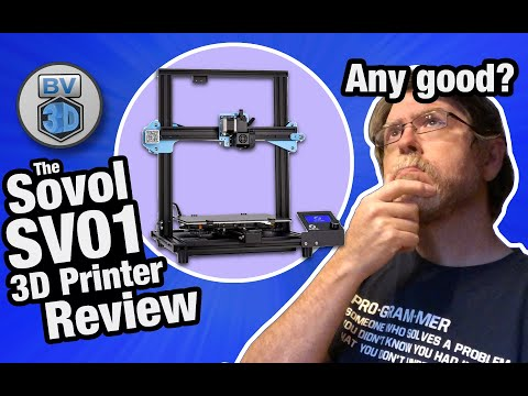 The Sovol SV01 3D Printer Review: Is it any good?