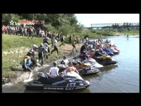 JET SKI GRAND PRIX 2009 -  reportage TV BARRANDOV