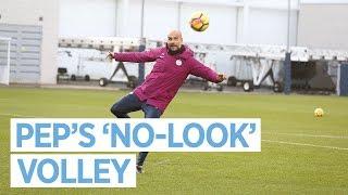 Download Video PEP'S 'NO-LOOK' VOLLEY | Training Pre Huddersfield MP3 3GP MP4