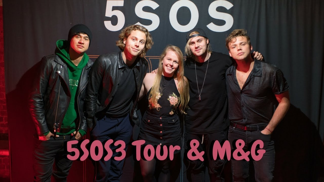 5 Seconds Of Summer 5sos3 Tour Mg In London Youtube