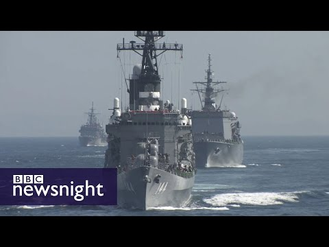 What is the future of the American-Japanese alliance? - BBC Newsnight