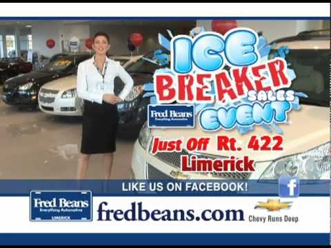 High Quality Fred Beans Chevrolet Of Limerick   Icebreaker Sales Event