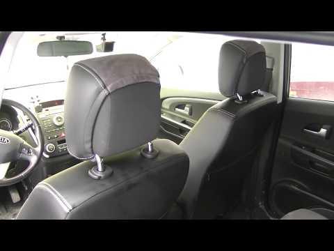 Авточехлы из экокожи для Киа Сид 1 поколение   Ромб Установка