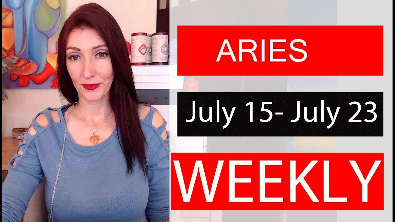aries weekly 20 to 26 tarot video