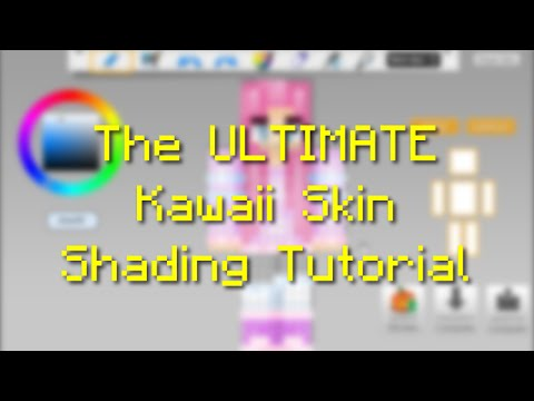Ultimate Kawaii Minecraft Skin Shading Tutorial PART YouTube - Skin para minecraft pe kawaii