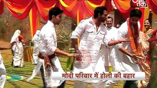 Holi Celebration in Saathiya