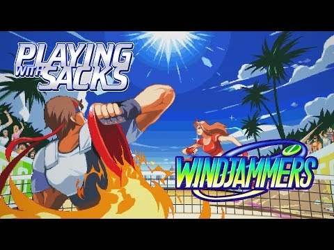 Windjammers - Neo Geo - Playing with Sacks