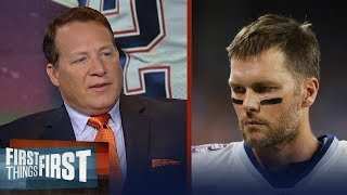 Eric Mangini talks struggling Patriots, expectations for Josh Gordon | NFL | FIRST THINGS FIRST