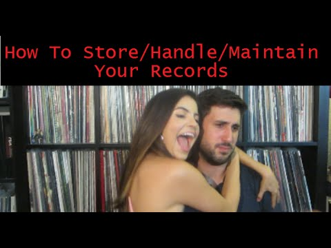 How To Store, Handle, and Maintain Your Vinyl Records