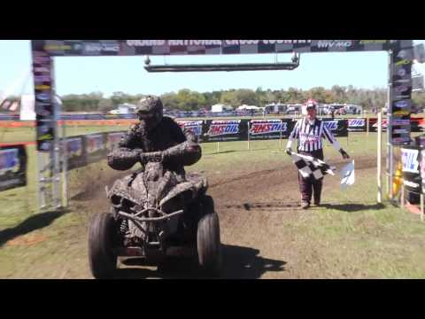 2014 GNCC Round 1 - Moose Racing Mud Mucker ATVs