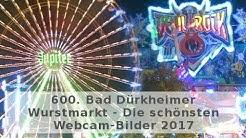 🎡 600. Bad Dürkheimer Wurstmarkt 2017 | Die schönsten Webcam-Bilder 🎠