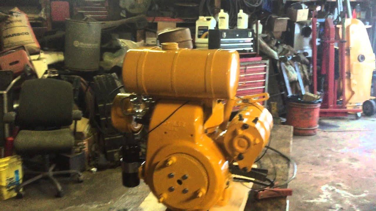Kohler K181 8hp Test Run On Bench