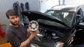 Nissan Murano Раскоксовка и обслуживание двигателя по технологии BG