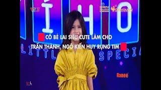 """Cô bé lai Việt – Đức xinh đẹp như thiên thần """"đốn tim"""" Trấn Thành, Anh Tú, Ngô Kiến Huy"""