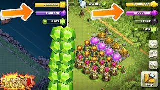 SO VIELE UPDATE GEMS! || CLASH OF CLANS || Let