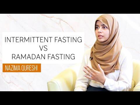 Intermittent Fasting VS Ramadan Fasting | Nazima Qureshi