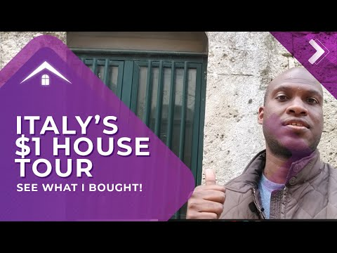 Cheap 1 Dollar Houses In Italy | Property Tours - Episode 3
