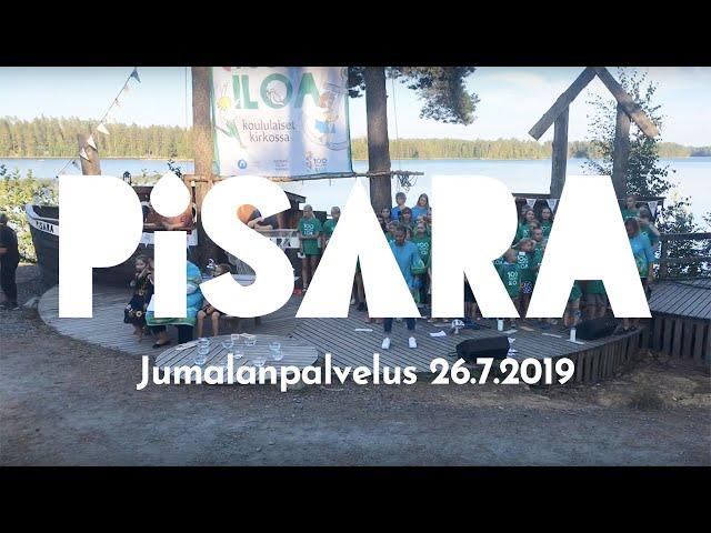 Ttila Goes PISARA Live - Jumalanpalvelus (26.7.2019)