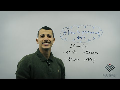 How To Pronounce D+r? American Accent