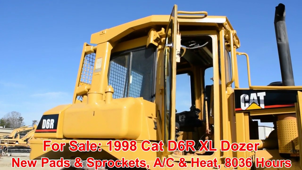1998 CATERPILLAR D6R XL For Sale