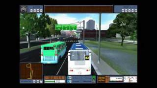 PC Game- Bus Driver GamePlay #2 (HD)