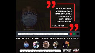 The Block is Hot TEASER 2: Racism in the Time of Corona Virus