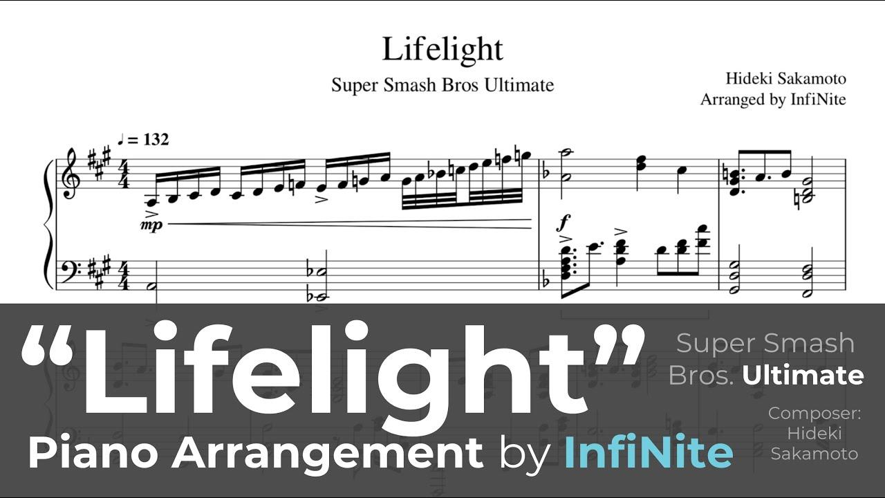 Lifelight Sheet Music Piano (Hard)