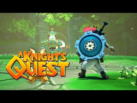 A Knight's Quest   Gameplay Trailer
