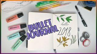 Bullet Journal 2018 - Határidőnapló mesterfokon | Viszkok Fruzsi