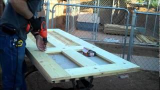 Pinto's Custom Blades - Shop Build - Doors
