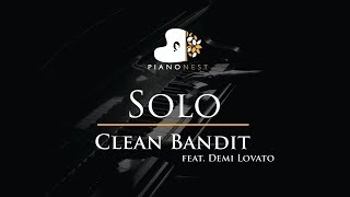 Clean Bandit - Solo (feat. Demi Lovato) - Piano Karaoke / Sing Along / Cover with Lyrics