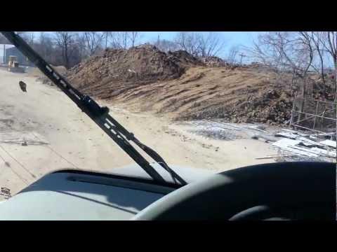 Terex TA25 hauling clay