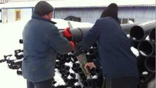 Резка ПНД трубы(, 2013-03-21T13:22:04.000Z)
