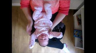 How to use a Manduca with a newborn baby